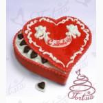 Торты на заказ Киев - подарок на День Святого Валентина