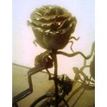 Сувенир Роза с подставкой.