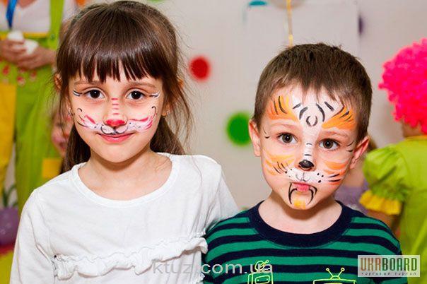 Аквагрим для детей карандашами
