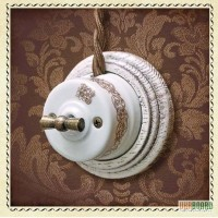 Продам Выключатель поворотный для наружного монтажа OP 11WT ретро