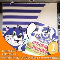 Брендирование торговых точек и авто в Помошной Кировоградской области
