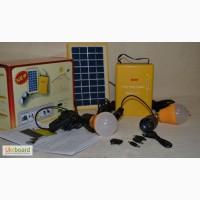Сонячна система з лампами і з підзарядкою телефону Solar Home System, 4500 mAh