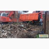 Демонтаж дачного дома снос дачных домов вывоз мусора