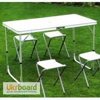 Набор для пикника стол+4стула TO-8812F