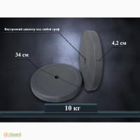 Диски для штанги и гантелей 10 кг от производителя (стоимость за 2 шт)