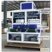 Автоматическая вакуум упаковочная машина с дозированием продукта