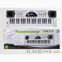 Синтезатор от сети, 49 клавиш, микрофон, в кор. 71х25х9 арт.HS4916B
