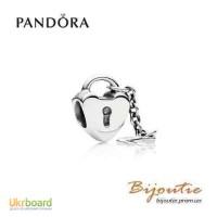 Оригинал PANDORA шарм ключ к моему сердцу 790971