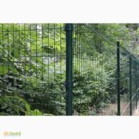 Забор из сварной сетки изготовление и установка