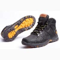 Ботинки кожаные зимние Timberland Pro Mk II Nubuck Black