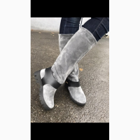 Продам новые зимние засшевые сапоги