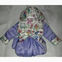 Детские цветные демисезонные куртки с сумочкой, возраст от полугода до 3 лет, цвета разные