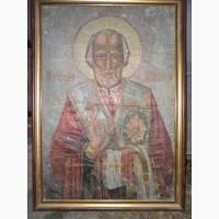Икона 19-го века. Св. Николая Мерликийского