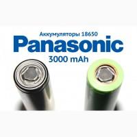 Аккумуляторы 18650, Panasonic-Tesla, 2800-3000mAh