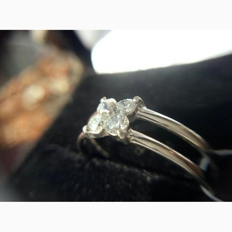 Фото 2. Кольцо с бриллиантами 0. 42 карата
