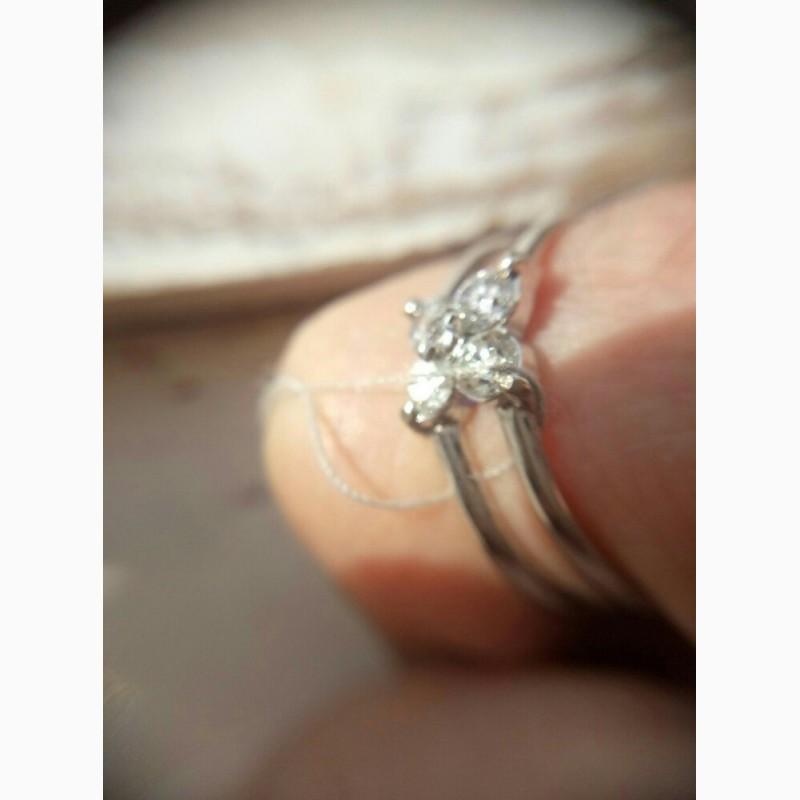 Фото 3. Кольцо с бриллиантами 0. 42 карата
