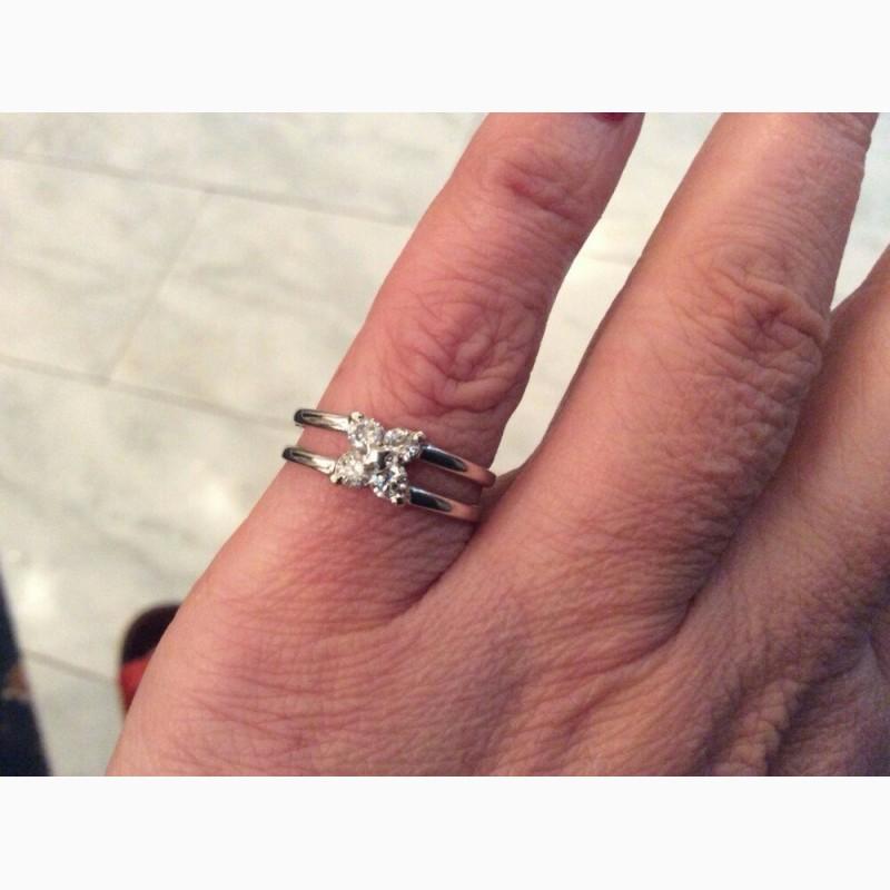 Фото 5. Кольцо с бриллиантами 0. 42 карата