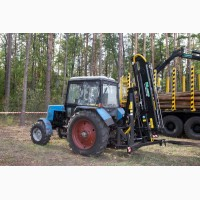 Трактор Беларус-82.1 з краном-маніпулятором DLAGRO