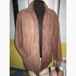 Утеплённая кожаная мужская куртка Trapper. Германия. Лот 28