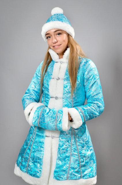 Фото 4. Новогодний шикарный карнавальный костюм Снегурочки, размеры 42-48