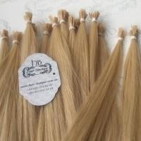 Волосы на кератиновых капсулах Наращивание