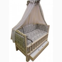 Акция! Комплект для сна! Комод, кровать маятник, матрас кокос, постель