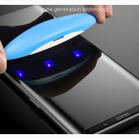 Защитное ультрафиолетовое стекло на Samsung S10 S10 lite s10 plus Note 9 Note 8 S7 edge S8
