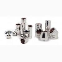 Димохідна труба та комплектуючі від виробника, (гільза та утепленні)