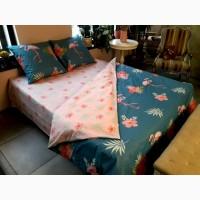 Комплекты постельного белья сатин - дуэт -полуторка, двуспальные, евро оптом и в розницу
