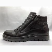 Скидка!Зимние кожаные ботинки под кеды на молнии Madoks