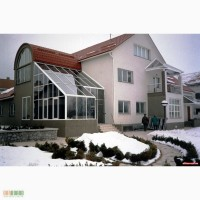 Изготовление зимнего сада. Проектирование и установка.