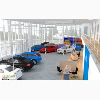 Строительство автосалонов и СТО