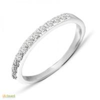 Золотое кольцо с бриллиантами 0,20 карат 17,5 мм. НОВОЕ (Код: 16315)