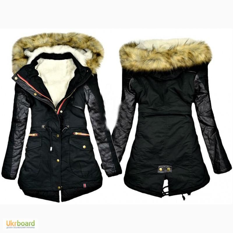 Зимние парки куртки женские