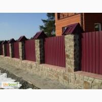 Металлопрофиль для обшивки фасадов, облицовки зданий