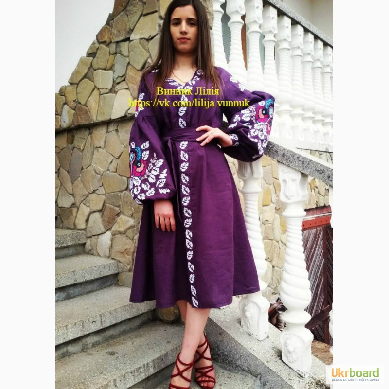 Продам купити стильне вишите плаття Бохо 0454e147078c2