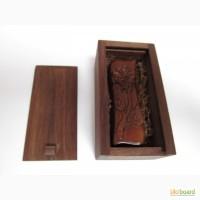 Прикольный сувенир флешка usb из дерева, практичный подарок флешка из дерева