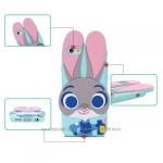 Силиконовый чехол Зверополис Rabbit Huawei Y6 II