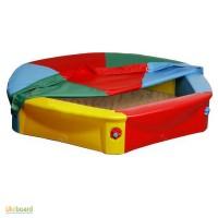 Большая красочная песочница с чехлом для детей