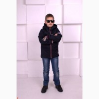 Демисезонная курточка для мальчика Парка с 116 -146 р