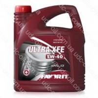 Масло моторное, Favorit ULTRA XFE 5W40 (API SL/CF), 4 литра