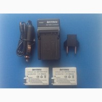 Зарядное устройство +2 батареи LP8-1800 mah for Canon 550d/600d/650d/700d