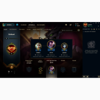 Продам Account League of Legends(Ru) второй