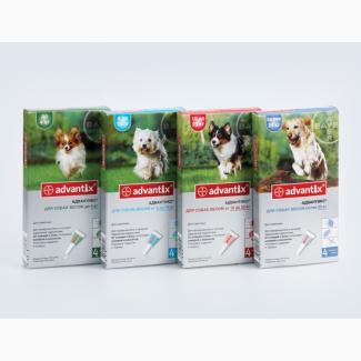 Адвантикс капли от блох и клещей для собак - Advantix Bayer