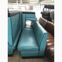Продам бу диван бирюзовый для кафе, баров, заведений общепита