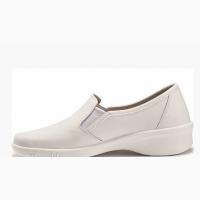 02-11 Туфли кожаные женские, белые
