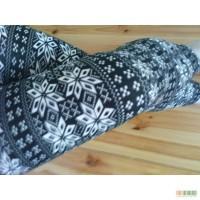 Леггинсы со снежинками NEW Тренд Осень Зима 2016