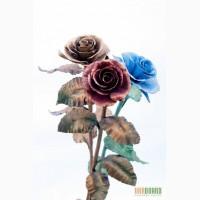 Эксклюзивный подарок девушке кованая роза ручной работы