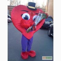 Оригинальное поздравление на День Валентина, ростовая кукла сердце Ростовая кукла Сердце