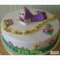 Детский торт с Машей С Днём рождения любимый сыночек